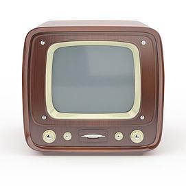 3d黑白<font class='myIsRed'>電視機</font>模型