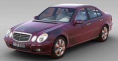 红色奔驰车模型3d模型