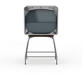 3d復古<font class='myIsRed'>電視機</font>模型