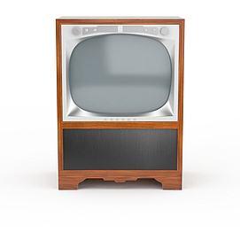 老式<font class='myIsRed'>电视机</font>3d模型