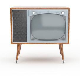 怀旧<font class='myIsRed'>电视机</font>3d模型