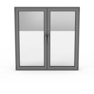 平开木窗3d模型