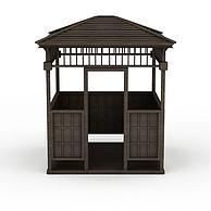 中式凉亭3D模型3d模型