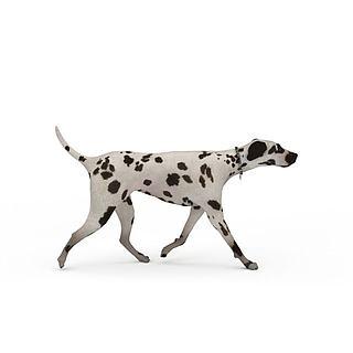 斑点<font class='myIsRed'>狗</font>模型3d模型