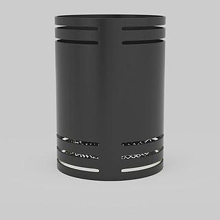 现代草坪灯3d模型