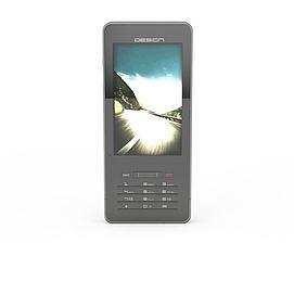 黑色<font class='myIsRed'>手机</font>3d模型