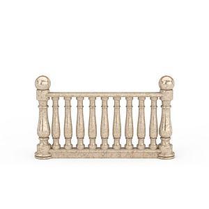 楼梯护栏配件模型