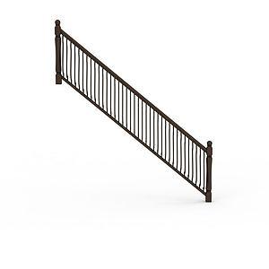 3d楼梯配件模型