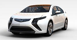 白色欧宝<font class='myIsRed'>汽车</font>3d模型