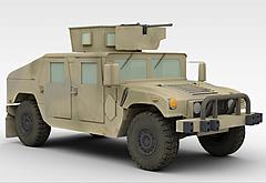 军事交通工具模型3d模型