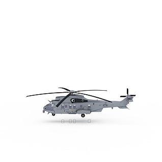 军事飞机3d模型