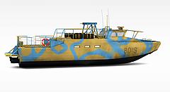 军事船舶模型3d模型