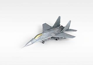 3d军事飞机模型