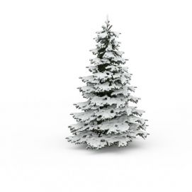 挂雪<font class='myIsRed'>圣诞树</font>3d模型