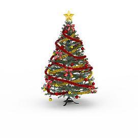 彩带<font class='myIsRed'>圣诞树</font>3d模型