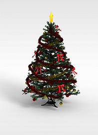 3d彩带<font class='myIsRed'>圣诞树</font>模型