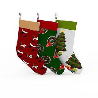 <font class='myIsRed'>圣诞</font>袜子3d模型