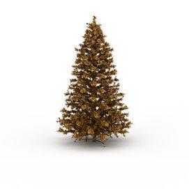 黄色<font class='myIsRed'>圣诞树</font>3d模型
