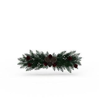 <font class='myIsRed'>圣诞</font>树装饰3d模型
