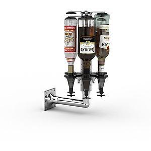 小型啤酒機模型3d模型