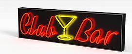 酒吧<font class='myIsRed'>牌坊</font>3d模型