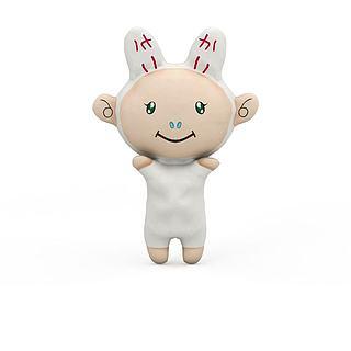 喜洋洋玩具3d模型