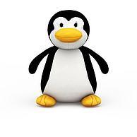企鹅布艺玩具3D模型3d模型