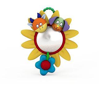 向日葵玩具3d模型