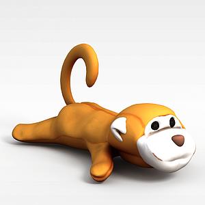 3d<font class='myIsRed'>猴子</font>玩具模型