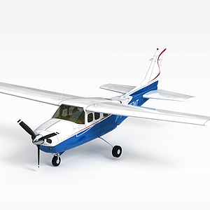 3d螺旋槳<font class='myIsRed'>飛機</font>模型