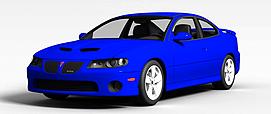 庞蒂亚克3d模型