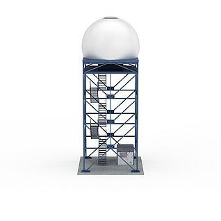 飞机机场设施3d模型