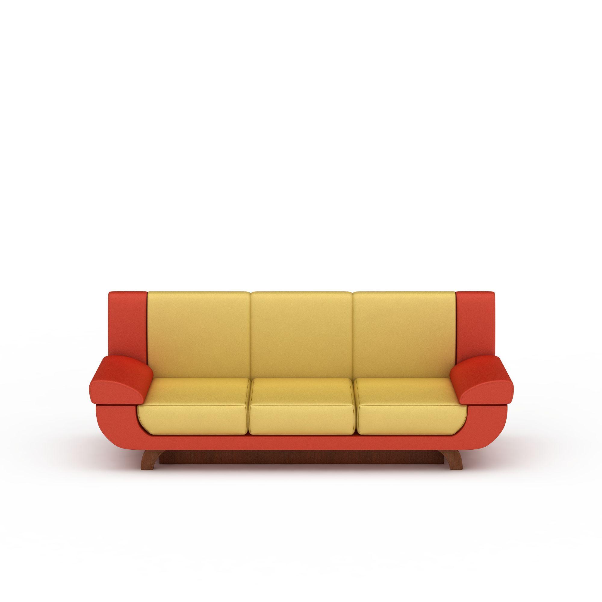 时尚沙发png高清图片下载