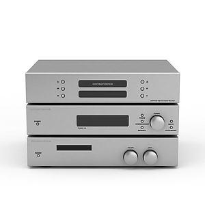 调音设备模型3d模型