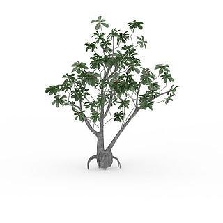 公园<font class='myIsRed'>植物</font>3d模型