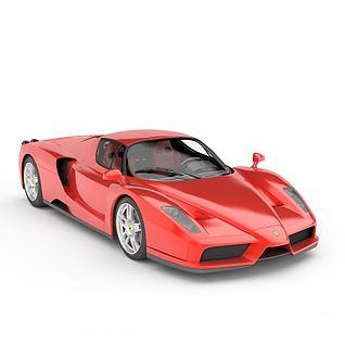法拉利Enzo汽车3d模型