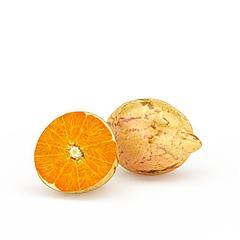橘子饰品模型3d模型
