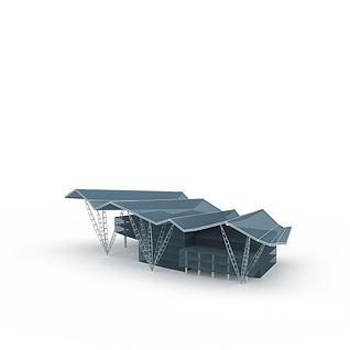 异形建筑3d模型