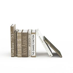 3d书刊<font class='myIsRed'>杂志</font>模型
