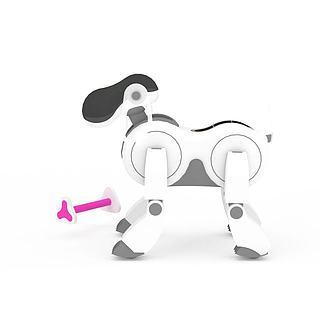 白色机器<font class='myIsRed'>狗</font>3d模型