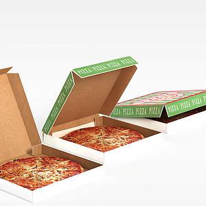 3d披萨模型