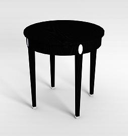3d木制椅子模型