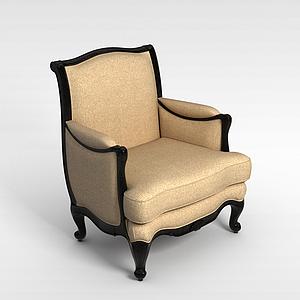 3d欧式椅子模型