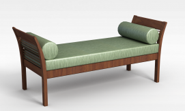 3d木制沙发模型