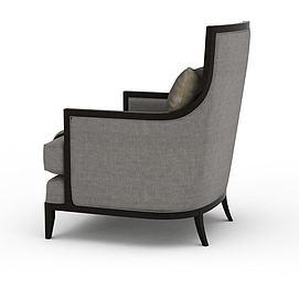 3d单人沙发模型