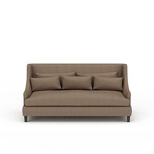 3d现代沙发模型