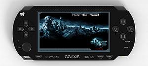3dPSP游戏掌机模型