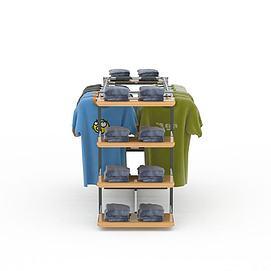 商展展架3d模型