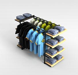 3d商展展架模型