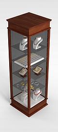 珠宝展柜3d模型
